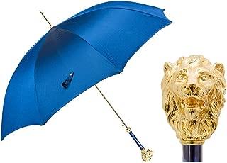 Pasotti Ombrelli Golden Lion Walking Stick Umbrella W37PB