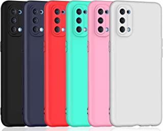 6 Pack,Colour TPU Silicone Case for Oppo Reno4 Pro 5G Cover Ultra Thin Soft Touch TPU Silicone Gel Phone Case Full Protect...