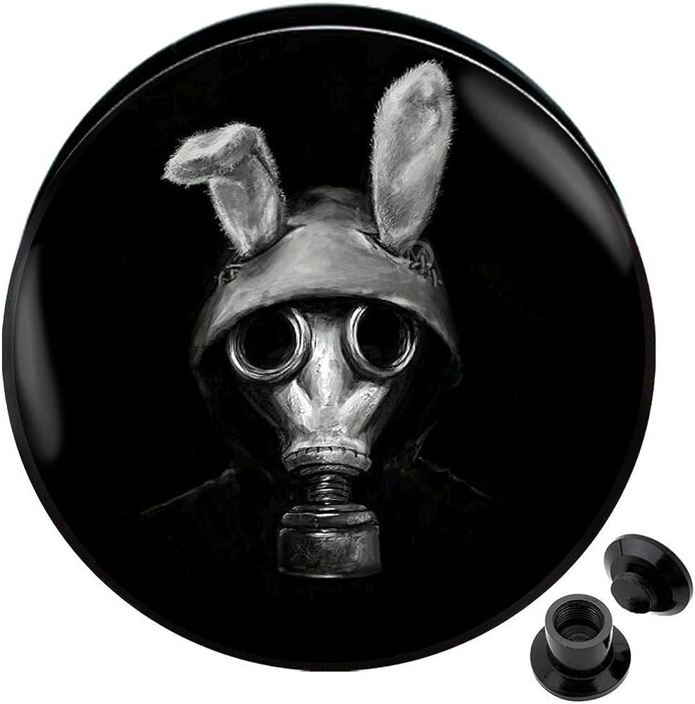 MoDTanOiz - Flesh tunnels Ear Gauge Plug Ears All items in the Large-scale sale store Tunnel Earring Scr