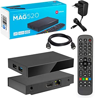 MAG 520 with HEVC H.265 4K UHD 60FPS Linux USB 3.0 (much better than 424 and 420)