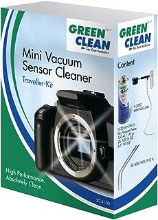 Green Clean GCSC-4100 - Pack de Limpieza de Equipos fotográficos (Incluye 1 x Aerosol 150 ml, 1 x Sistema Mini-Vac, 2 x Pick Up), Multi