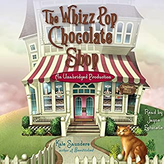The Whizz Pop Chocolate Shop audiobook cover art
