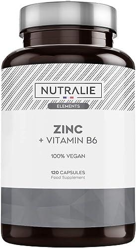 Zinc Végétalien Pur Haute Dose | Antioxydant et contribue au Système Immunitaire Normal grâce au Citrate de Zinc et à...