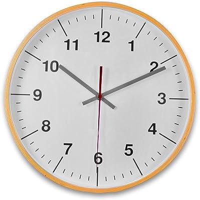 128 FUNHUA Swim Pace Clock Unique Decorative 12-Inch Wall Clock