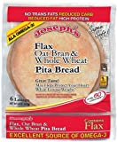 Joseph's Flax, Oat Bran and Whole Wheat Flour Pita Bread by Joseph's Middle East Bakery