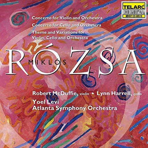 Yoel Levi, Atlanta Symphony Orchestra, Robert McDuffie & Lynn Harrell