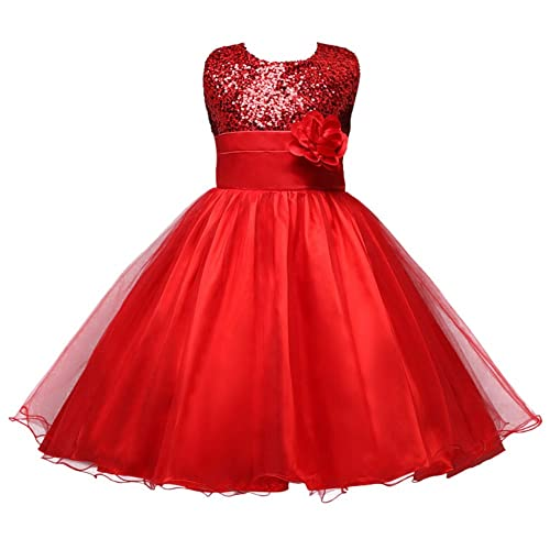 Red Party Dress for Kids Amazon.co.uk