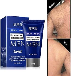 2c5ef7aaeeb Man s Permanent Body Hair Removal Cream Hand Leg Hair Loss Depilatory Cream