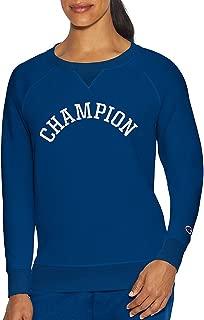 Champion Womens Heritage Fleece Crew Long Sleeve Sweatshirt
