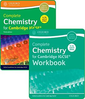 Complete Chemistry for Cambridge IGCSE® Student Book and Workbook Pack: Third Edition