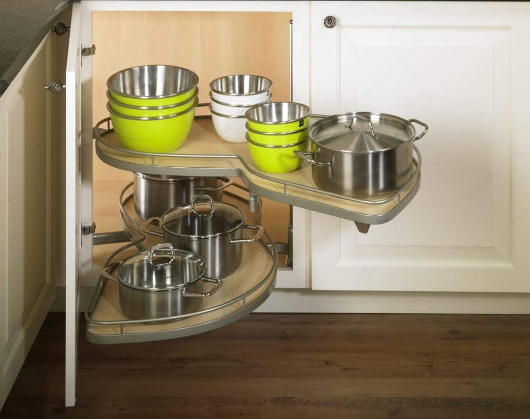 Kitchen Inventions Lemans II Translated Set Susan 2-Shelf Soft-Cl Ranking TOP17 with Lazy