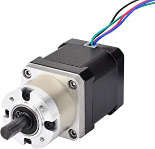 STEPPERONLINE Nema 17 Geared Stepper Motor Gear Ratio 5:1 3D Printer Extruder Motor DIY CNC Robotics