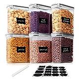 Vtopmart 2.5L Recipientes para Cereales Almacenamiento de Alimentos, Jarras de...