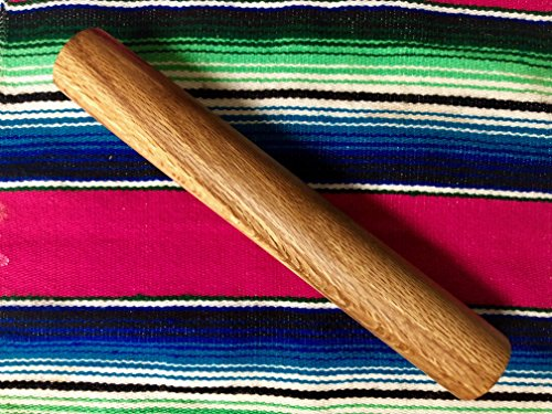 Tortilla pin, handmade red oak