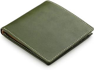 [アビエス] ABIES L.P. 栃木レザー 二つ折り財布(小銭入れなし) 日本製 牛革 メンズ
