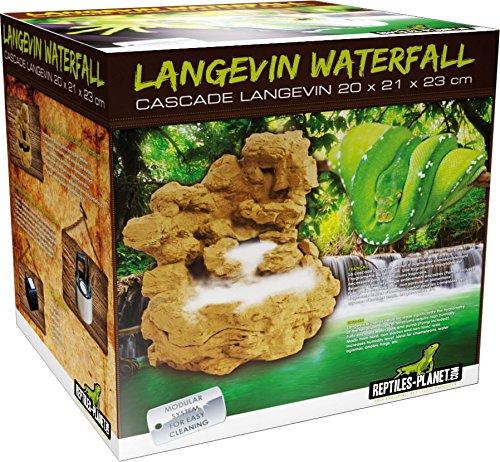 Reptiles Planet Wasserfall für Terrarium Reptilien Langevin mit Pumpe