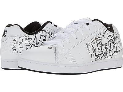 DC DC X Basquiat Sneaker Collection (White/Black Print