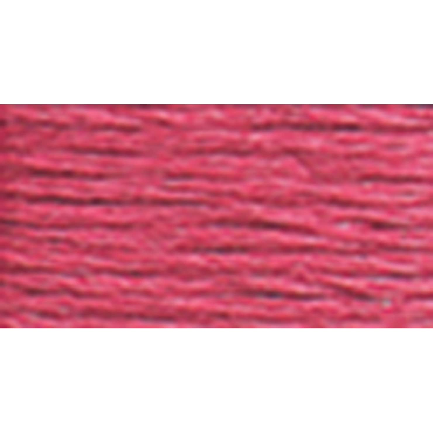 DMC 117-335 Mouline Stranded Cotton Six Strand Embroidery Floss Thread, Rose, 8.7-Yard