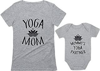 yoga mom and baby