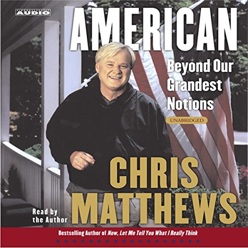 American audiobook cover art