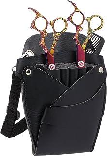 Tubayia Brown PU Leather Motorcycle Saddle Bag Luggage Roll Tool Bag Storage Bag