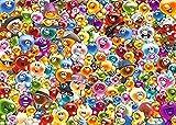 ZZMMUW Rompecabezas de Madera de Dibujos Animados de Anime, Rompecabezas de 1000 Piezas, coleccionables de Bricolaje, decoración Moderna para el hogar, una Gran cantidad de Gelini