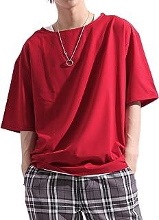 バレッタ Valletta ストレッチ プルオーバー ビッグTシャツ & タンクトップ & ネックレス 3点セット アンサンブル メンズ
