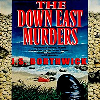 The Down-East Murders audiobook cover art