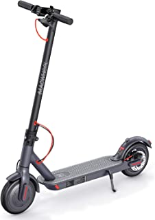 """Electric Scooter, Powerful 350W Motor, 18.6 Miles Long-Range 270Wh 36V/7.5Ah Battery, Up to 15.6 MPH, 8.5"""" Non-Pneumatic Foam Filled Tires, Adult Electric Scooter for Commute and Travel (MX1)"""