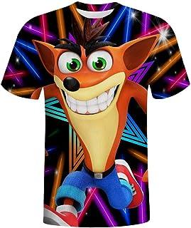 BEKAI Cool Crash Band-icoot 3D Print Graphic Mens T-Shirts,Pullover Tees