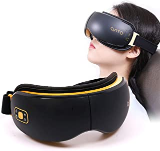 Eye Massager Electric for Reduce Dark Circles, Heat/Music and Air Compression Three Modes Eye Care improve Sleeping.