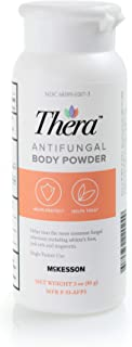 Thera Antifungal Body Powder, Relieves and Prevents Skin Irritation Caused by fungus and Skin Infections - Formulated with...
