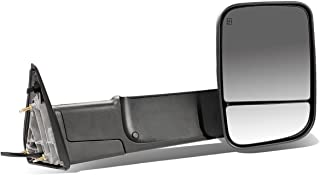 DNA Motoring TWM-013-T888-BK-SM-R Powered Tow Mirror+Heat+LED Smoked Right/Passenger [For 09-16 Dodge RAM]