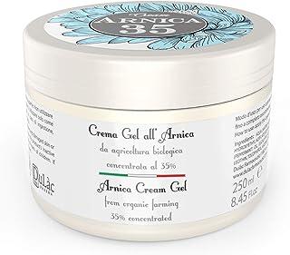 Crema Gel Arnica Forte 250 ml Dulàc Arnica 35, Made in Italy - Gel Crema Arnica con estratti di Arnica Montana Bio, Eucali...