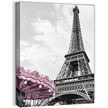 N-056 Paris Eiffel Tower City Silk Poster 12x18 24x36 27x40