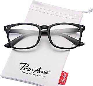 Pro Acme Non-prescription Glasses Frame Clear Lens Eyeglasses