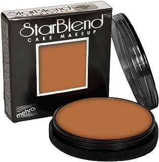 Mehron Makeup StarBlend Cake (2 oz) IDECS (Medium Brown)