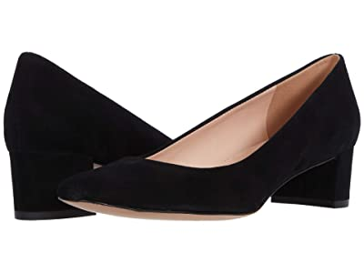 J.Crew Suede Jules Pump (Black) Women