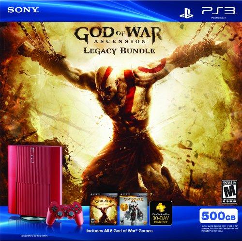 PS3 500 GB God of War Ascension Legacy Bundle [video game]