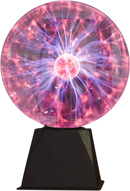 HUANGLP Nachtlicht Kinder,Magisches Helles Nachtlicht-Dekorationsgeschenk des Blitzballs Statisches,8Inches