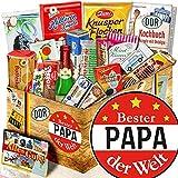 Bester Papa + Geschenke für Geburtstag + Süssigkeiten Ost
