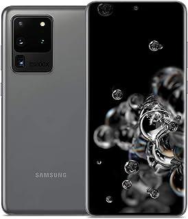 """Samsung Galaxy S20 Ultra 5G (SM-G9880) Dual SIM / 256GB+12GB RAM / 6.9""""/ 5G対応 / SIMフリー スマートフォン, Snapdragon 865 (Cosmic Gra..."""