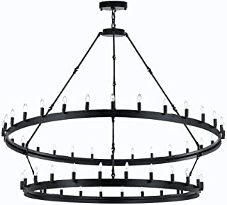 Best wrought iron chandeliers Reviews