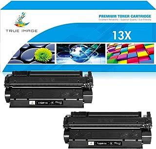 True Image Compatible Toner Cartridge Replacement for HP Q2613A C7115X C7115A Q2613X Laserjet 1300 1300N 3380 1150 1200 1200N 1220 3300 3330 13A 13X 15A 15X (Black, 2-Pack)