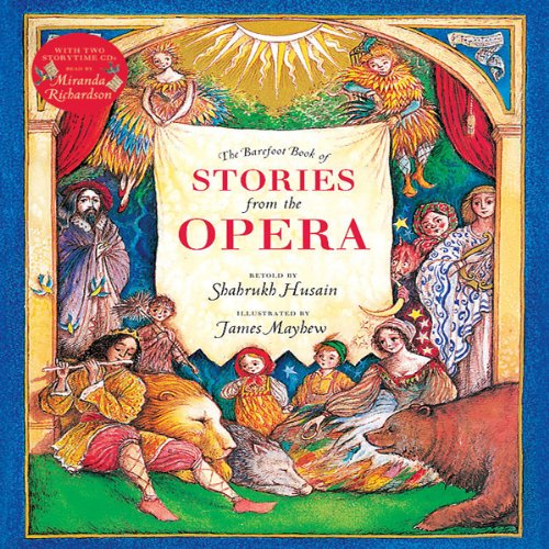 The Barefoot Book of Stories from the Opera audiobook cover art