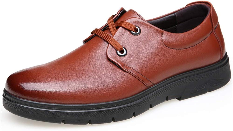 CHENDX Schuhe, Schuhe, Herren Freizeitmode Herren Trend Business Oxford Schnürschuhe runde Formale Schuhe (Farbe   Braun, Größe   39 EU)  präsentiert die neuesten High Street Fashion