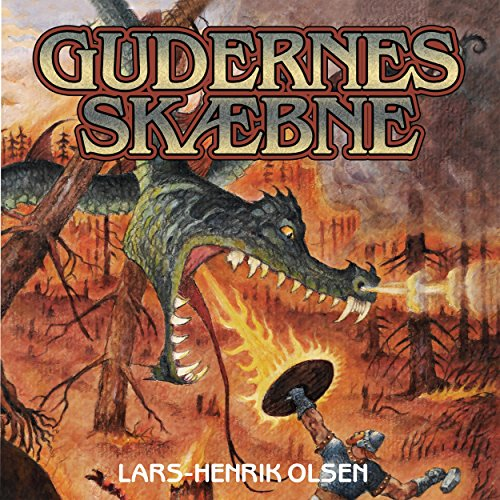 Gudernes skaebne audiobook cover art
