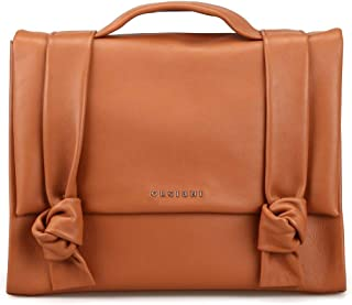 Luxury Fashion | Orciani Womens B02021LOTUSBROWN Brown Briefcase | Spring Summer 19