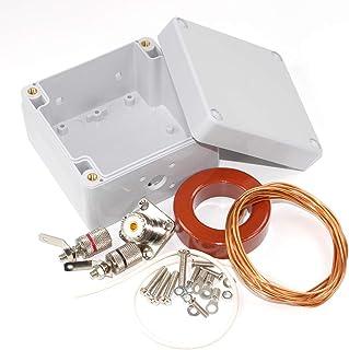 AEcreative 10-160 Meter Amateur ham HF Band Radio Wire Loop Antenna Balun Unun DIY kit T200-2 Type 2 Iron Powder ferrite toroid core 16AWG 1.3mm Enameled Magnet Winding Wire