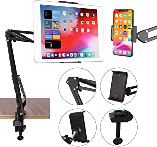 Cell Phone Stand, Phone Dock, Phone Clip Holder Clamp for Desk,Universal Phone Stand Holder Mount Flexible 360° Rotation,L...